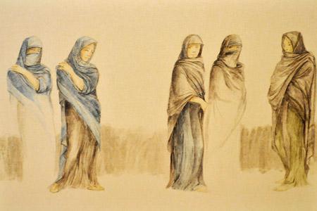 Diseño de vestuario de Ágora