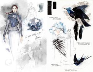 Vestuario y estilismo de Sinsajo