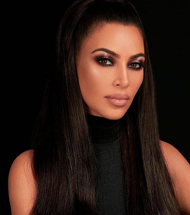 Kim Kardashian maquillada por Mario Dedivanovic