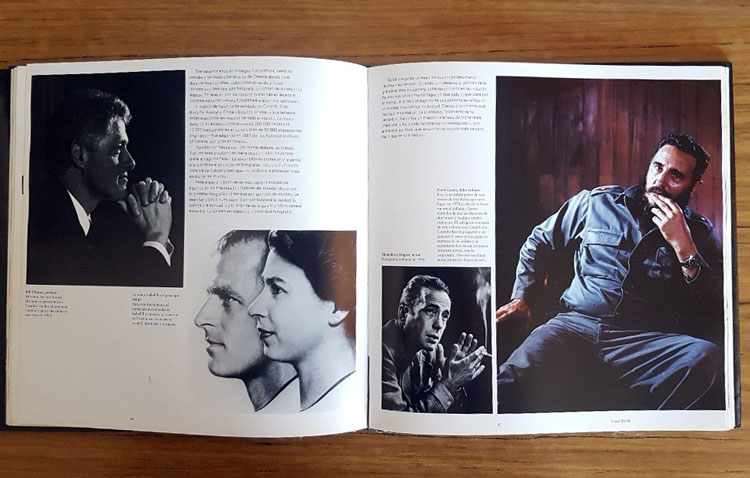 Libro de fotografía de retrato por Fergus Greer.
