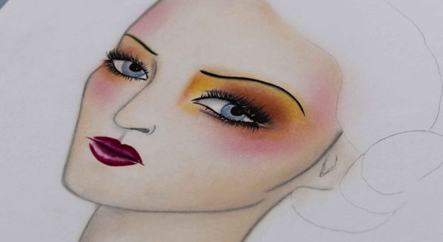 Facechart en maquillaje
