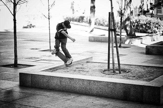 Fotografía profesional de skate