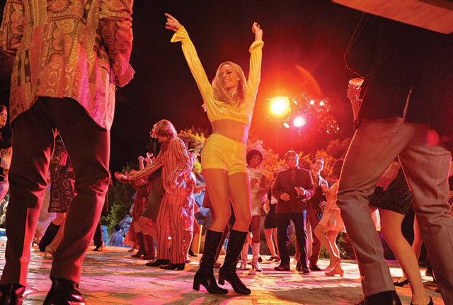 Margot Robbie para una película de Tarantino.