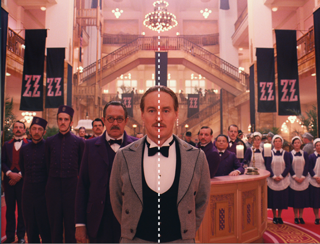 The Grand Budapest Hotel, 2014.