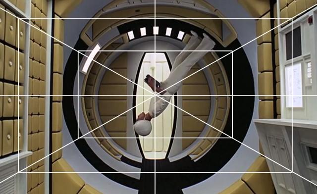 La simetría central de Stanley Kubrick.