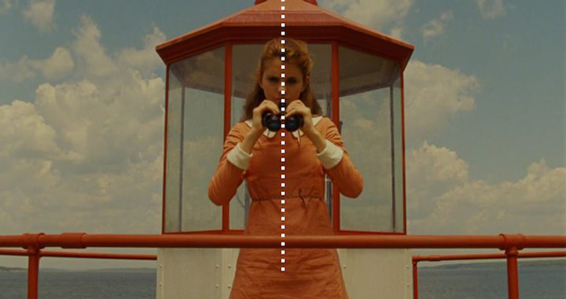 Película Moonrise Kingdom, 2012.