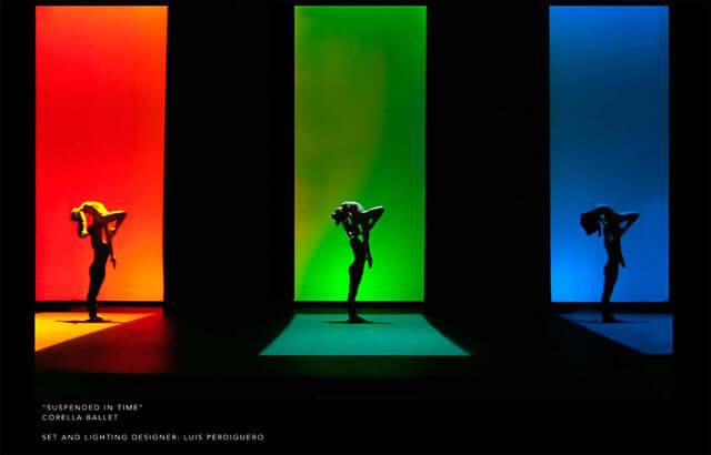 Coreografía de ballet.