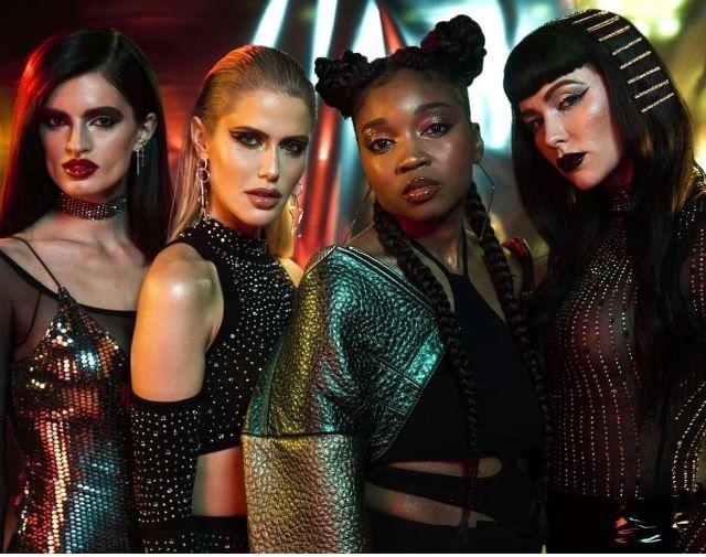 Campaña de navidad de NYX Cosmetics