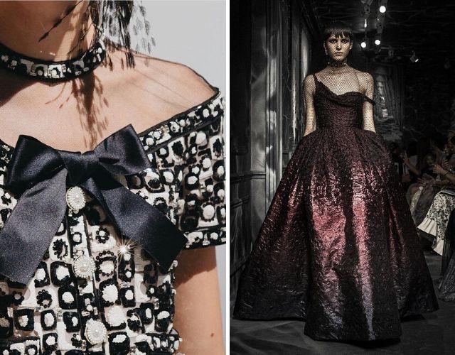 Desfiles de Chanel y Dior en la Alta Costura en París.