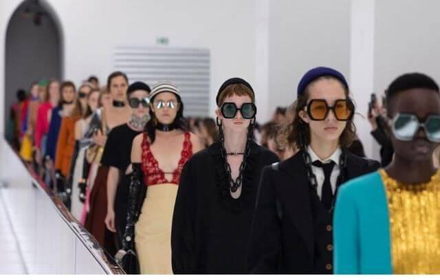 Desfile de Gucci en Milano Fashion Week.