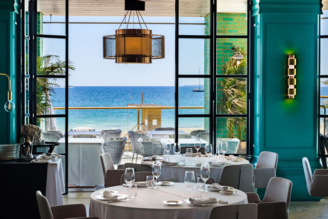 Restaurante Tatel Ibiza.