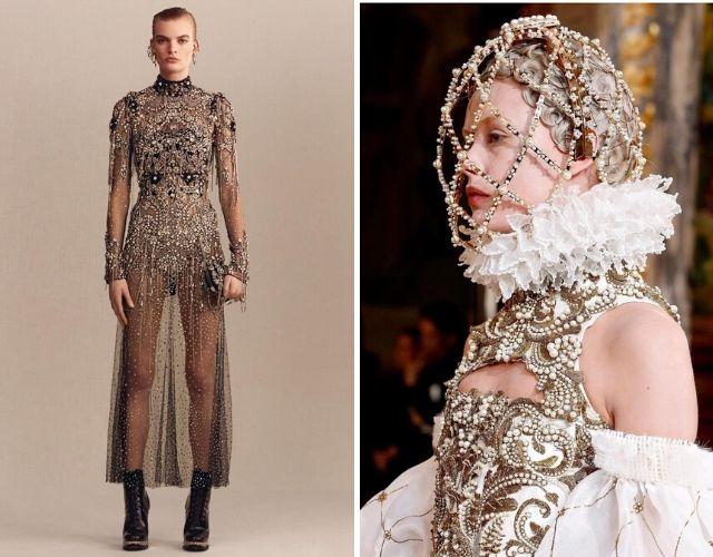 Diseños de Sarah Burton para Alexander McQueen