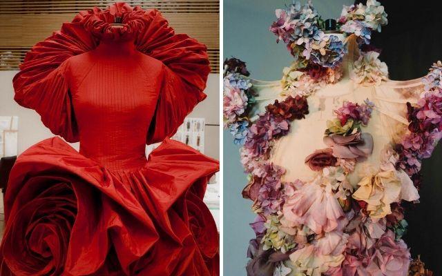 Exposición Roses de Alexander McQueen