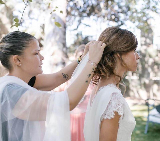 Maquillaje y peinado para novias de Cristina Libertad