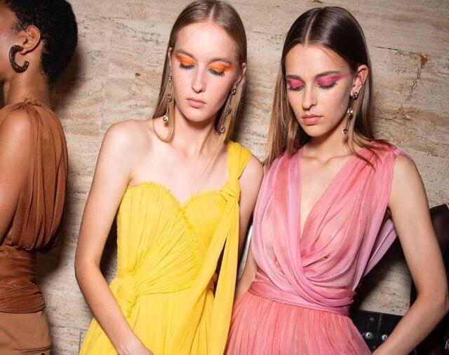 Tendencias de maquillaje 2020 en el desfile de Oscar de la Renta