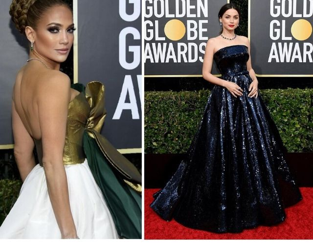 Globos de Oro 2020 Jennifer Lopez y Ana de Armas