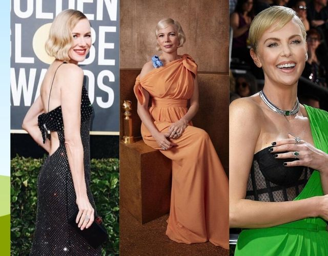 Globos de Oro 2020 Naomi Watts, Michelle Williams Charlize Theron