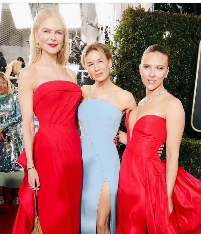 Globos de Oro 2020 Nicole Kidman, Scarlett Johansson, Renee Zellweger