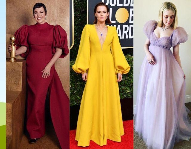 Globos de Oro 2020 Olivia Colman, Zoey Deutch, Dakota Fanning