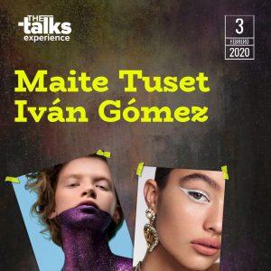 Maite Tuset e Iván Gómez
