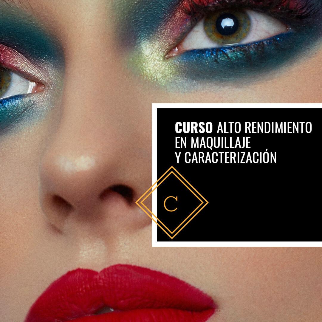 Curso de Formación en Alto Rendimiento en Maquillaje y Caracterización