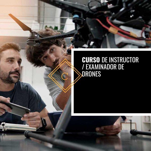 Curso de Instructor y Examinador de Drones