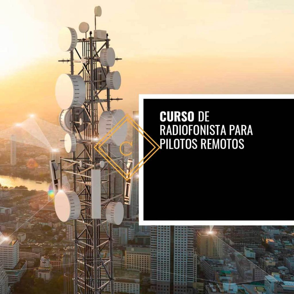 Curso de Radiofonista para Pilotos Remotos