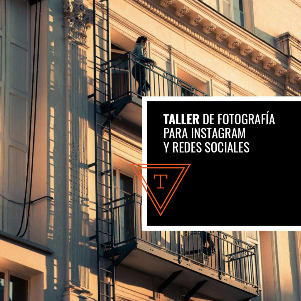 Taller de fotografía para Instagram y Redes Sociales