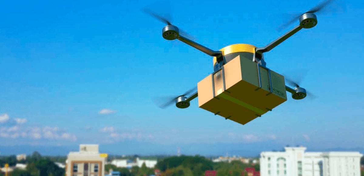 Distribución y paquetería con drones