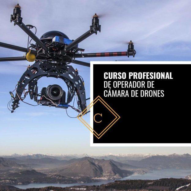 Curso Profesional de Operador de Cámara de Drones
