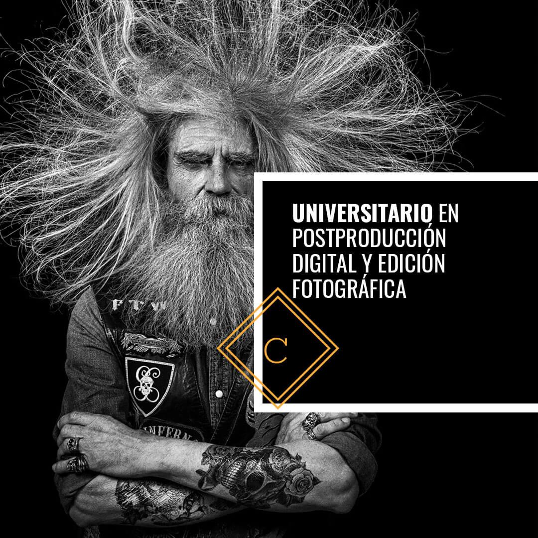 Universitario en PostProducción Digital y Edición Fotográfica