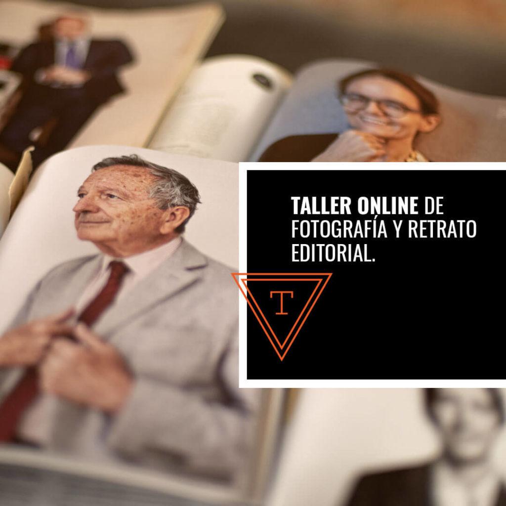 Taller de Fotografia y Retrato Editorial
