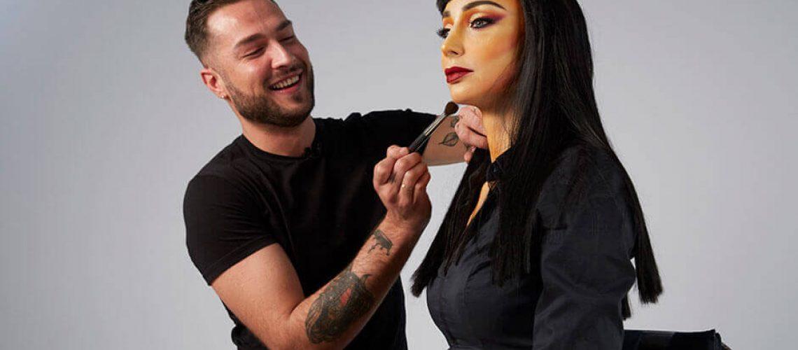 Maquillador profesional Angel Marta