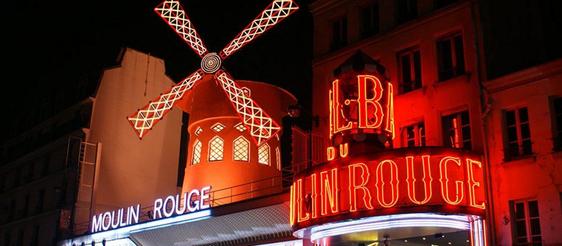 Fachada de Moulin Rouge