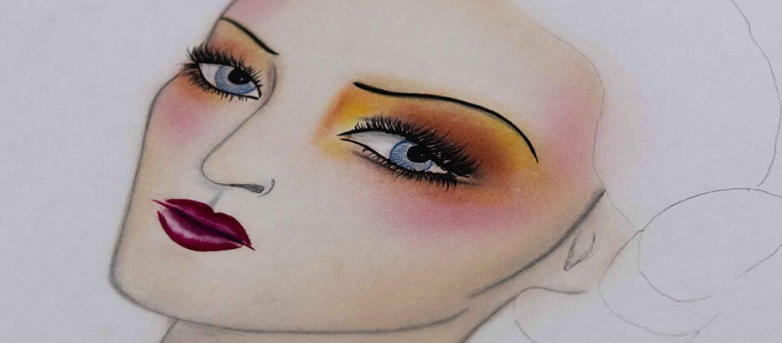 Facechart en maquillaje